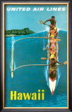 United Airlines, Outrigger Prints by Stan Galli