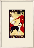 Dog Show Framed Giclee Print