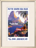 South Sea Isles via Pan Am Posters by Paul George Lawler