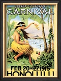 Mid-Pacific Carnival, 1915 Prints