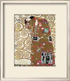 Fulfillment, Stoclet Frieze, c.1909 Print by Gustav Klimt