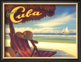 Escape to Cuba Poster by Kerne Erickson