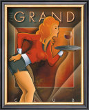 The Grand Club Posters by Michael L. Kungl
