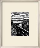 Pânico Arte por Edvard Munch