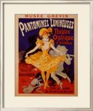 Pantomimes Lumineuses Prints by Jules Chéret