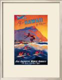 Fly to Hawaii Prints by M. Von Arenburg