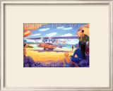Palm Beach Aero Prints by Kerne Erickson