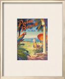 Palm Beach, Florida Print by Kerne Erickson