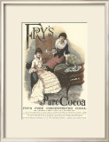 Fry's Pure Cocoa Poster