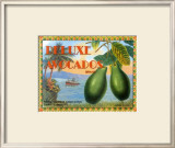 Deluxe Avacados Prints by Miles Graff