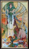 Salammbo Framed Giclee Print by Alphonse Mucha