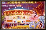 Le Cirque d'Hiver de Paris Framed Giclee Print
