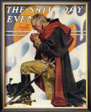 George Washington at Valley Forge, c.1935 Framed Giclee Print by Joseph Christian Leyendecker