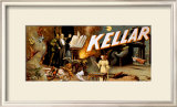 Keller the Magician Framed Giclee Print