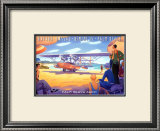 Palm Beach Aero Print by Kerne Erickson