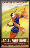 Le Golf de Font-Romeu Framed Giclee Print by Leonetto Cappiello