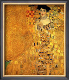 Portrait of Adele Bloch-Bauer I Framed Giclee Print by Gustav Klimt