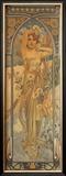 Eclat du Jour Framed Giclee Print by Alphonse Mucha