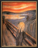 The Scream, c.1893 Poster by Edvard Munch