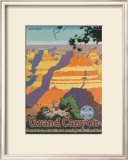 Santa Fe Railroad: Grand Canyon National Park, Arizona Prints by Oscar M. Bryn