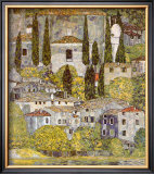 Church at Cassone sul Garda Art by Gustav Klimt