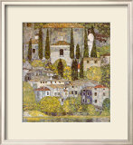 Church at Cassone sul Garda Poster by Gustav Klimt