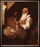 Santa's Workshop Prints by Norman Rockwell