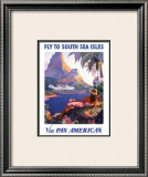 South Sea Isles via Pan Am Prints by Paul George Lawler