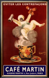 Cafe Martin Framed Giclee Print by Leonetto Cappiello
