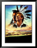 Dances with Wolves Print by Renato Casaro