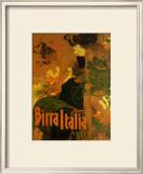 Birra Italia, c.1906 Art by Adolfo Hohenstein