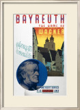 Bayreuth, the Home of Wagner Framed Giclee Print by Austin Cooper