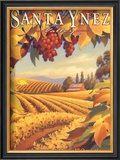 Santa Ynez Valley Posters by Kerne Erickson