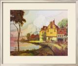 L'Etang Prints by Georges de Feure