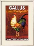 Gallus, Grand Vin Apertif Framed Giclee Print
