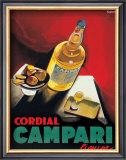 Cordial Campari Poster by Marcello Nizzoli