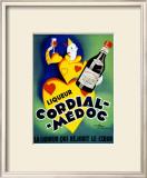 Liqueur Cordial Medoc Framed Giclee Print