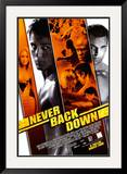 Never Back Down Prints