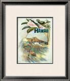 A Trip to Hawaii Framed Giclee Print