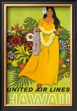 United Airlines, Lei Offering Prints