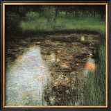 The Swamp Framed Giclee Print by Gustav Klimt