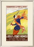Le Golf de Font-Romeu Framed Giclee Print by Leonetto Cappiello