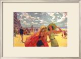 The Belgian Coast Framed Giclee Print by Arthur C Michael