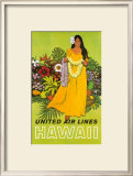 United Airlines, Lei Offering Print