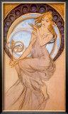 Malirstivi Framed Giclee Print by Alphonse Mucha