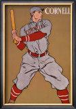 Vintage Cornell Baseball Framed Giclee Print