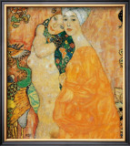 Freundinnen Prints by Gustav Klimt