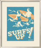 Surf's Up Posters by B. J. Schonberg