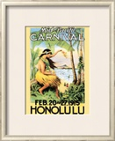 Mid-Pacific Carnival, 1915 Poster