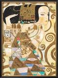 Expectation, Stoclet Frieze, c.1909 (detail) Prints by Gustav Klimt